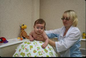 Детский массаж в Калининграде